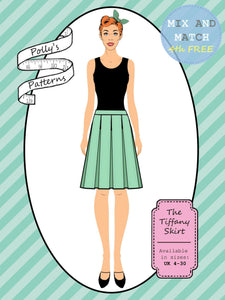 Polly's patterns - The Tiffany Skirt - Pattern Shop
