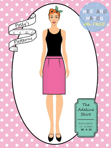 Polly's patterns - The Adeline Skirt - Pattern Shop