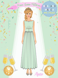 Prom Queen Patterns - Agate - Pattern Shop