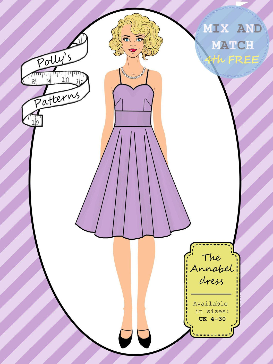 Polly's patterns - The Annabel Dress - Pattern Shop