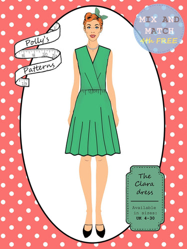 Polly's patterns - The Clara Dress - Pattern Shop