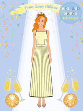 Load image into Gallery viewer, Prom Queen Patterns - Diamond - Pattern Shop