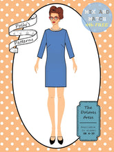 Load image into Gallery viewer, Polly's patterns - The Dolores Dress - Pattern Shop