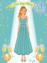 Load image into Gallery viewer, Prom Queen Patterns - Druzy - Pattern Shop