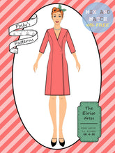 Load image into Gallery viewer, Polly's patterns - The Eloise Dress - Pattern Shop