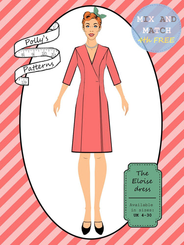 Polly's patterns - The Eloise Dress - Pattern Shop