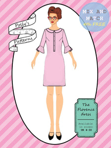 Polly's patterns - The Florence Dress - Pattern Shop