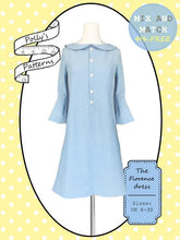 Load image into Gallery viewer, Polly's patterns - The Florence Dress - Pattern Shop