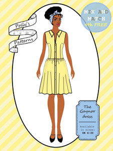 Polly's patterns - The Gaynor Dress - Pattern Shop