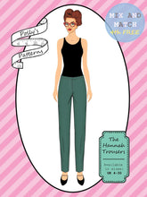 Load image into Gallery viewer, Polly's patterns - The Hannah Trousers - Pattern Shop