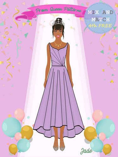 Prom Queen Patterns - Jade - Pattern Shop