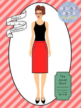 Load image into Gallery viewer, Polly's patterns - The Janet Skirt - Pattern Shop