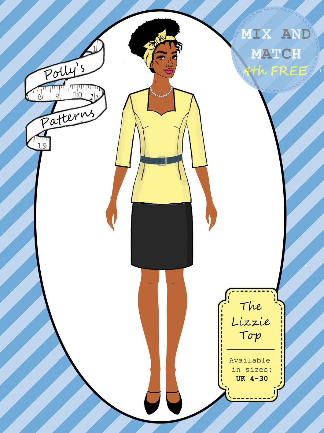 Polly's patterns - The Lizzie Top - Pattern Shop
