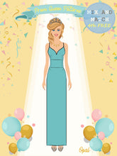 Load image into Gallery viewer, Prom Queen Patterns - Opal - Pattern Shop