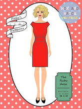 Load image into Gallery viewer, Polly's patterns - The Ruby Dress - Pattern Shop