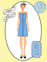 Load image into Gallery viewer, Polly's patterns - The Sheila Dress - Pattern Shop