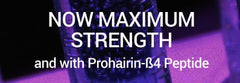 Maximum Strength Redensyl product for hair loss with ß4 peptide