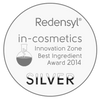 in-Cosmetics Silver Award winner Redensyl seal
