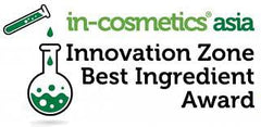 in-Cosmetics Asia Best Ingredient Award winner