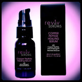 Copper Peptide Healing Serum with EGF and Telangyn Redness Reducer- RevivSerums.com