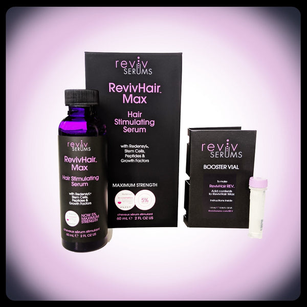 RevivHair REV bundle for gray or thinning hair  - RevivSerums.com