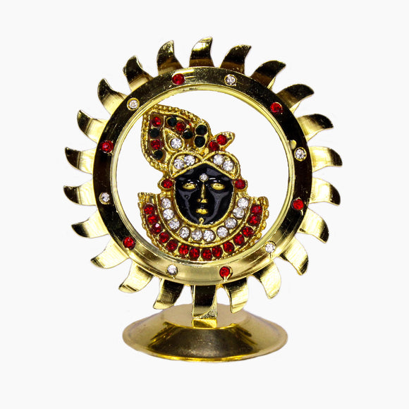 Car Divinity Accessory Krishna ideal Gift for Your Family, Friend Relatives