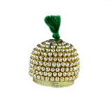 Golden Topi/ Cap with  Necklace & Bangles | God Jewellary Set