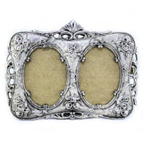 Silver Plated Double Photo frame
