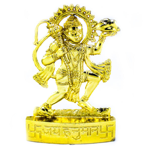 Gold Plated Hanuman (10.5 cm high)