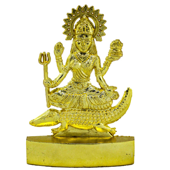 Gold Plated Gangaji idol (10 cm high)