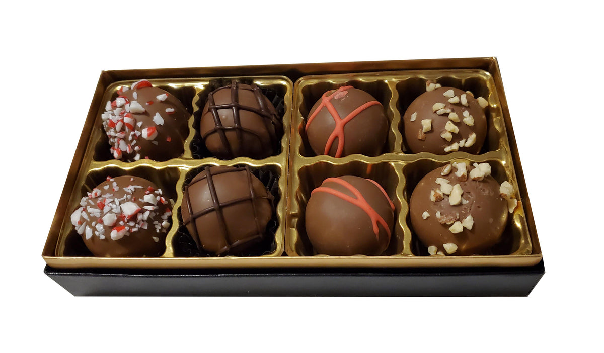 Hand Made Dairy Truffles 8pc Gift Set
