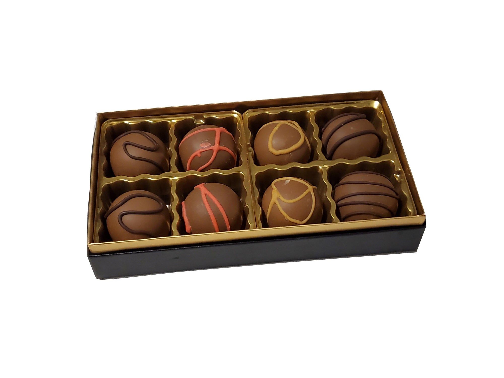 Hand Made Chocolate 8pc Dairy  Gift Box