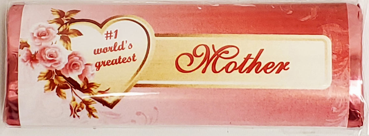 World Greatest Mom Chocolate Message
