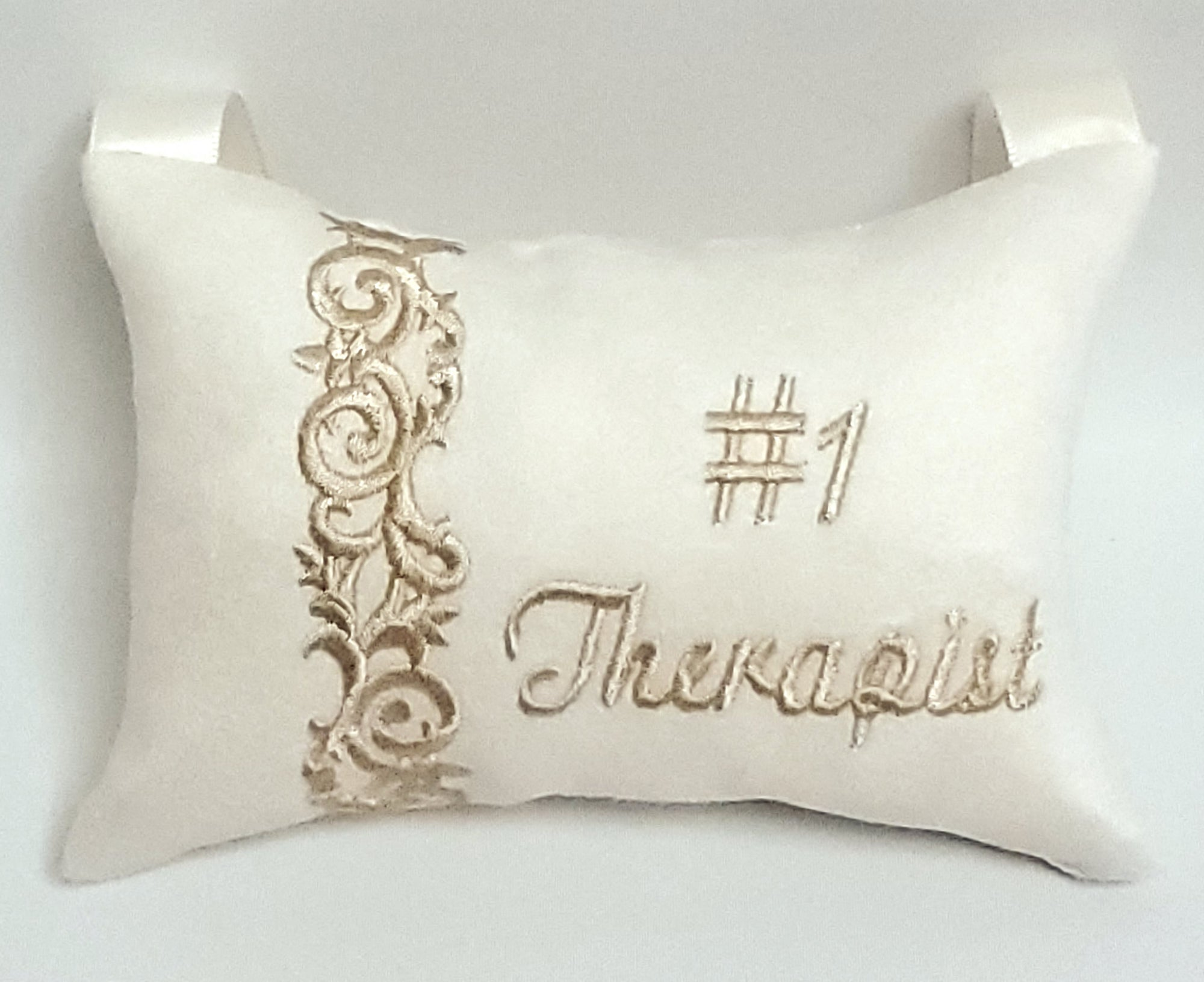 #1 Therapist Pillow