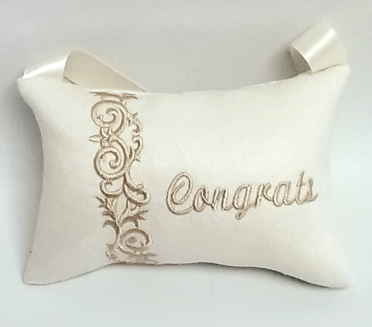 Congrats, Pillow