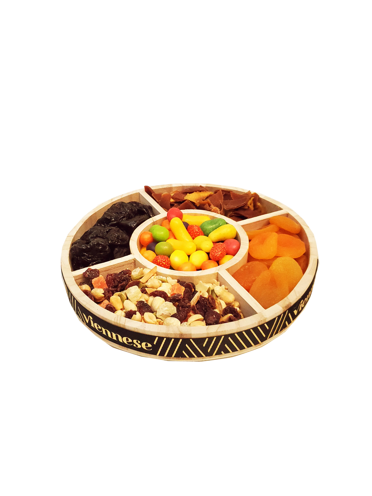 Tu Beshvat Dried Fruit, Candy, Nut Platter