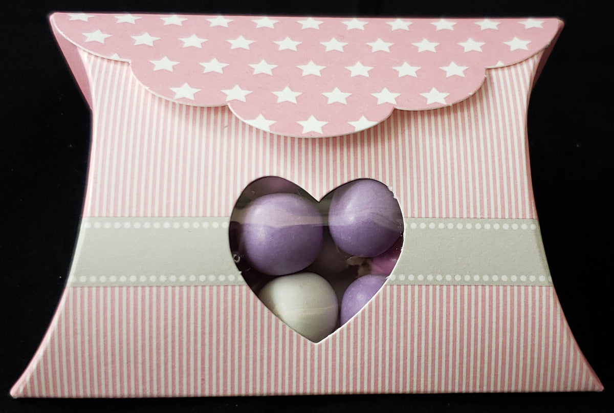Baby Pink Pillow window Box