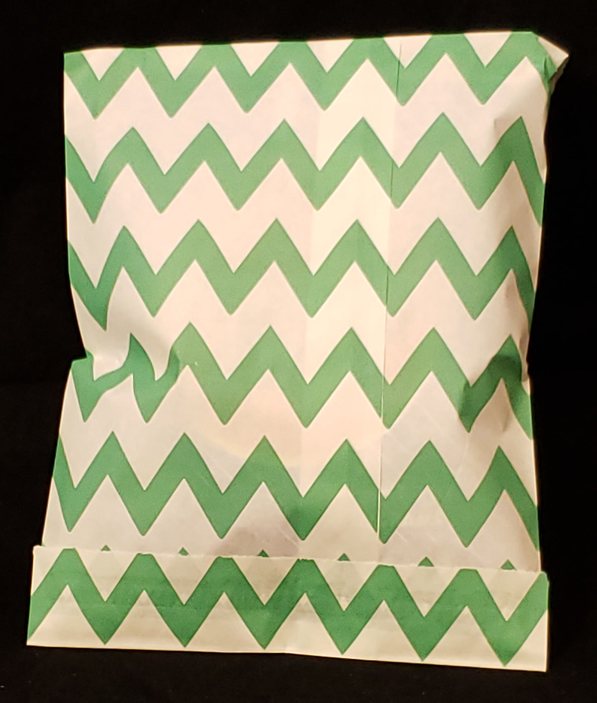 Green Chevron Bag Pekalach Upsherin, Birthday, New Baby
