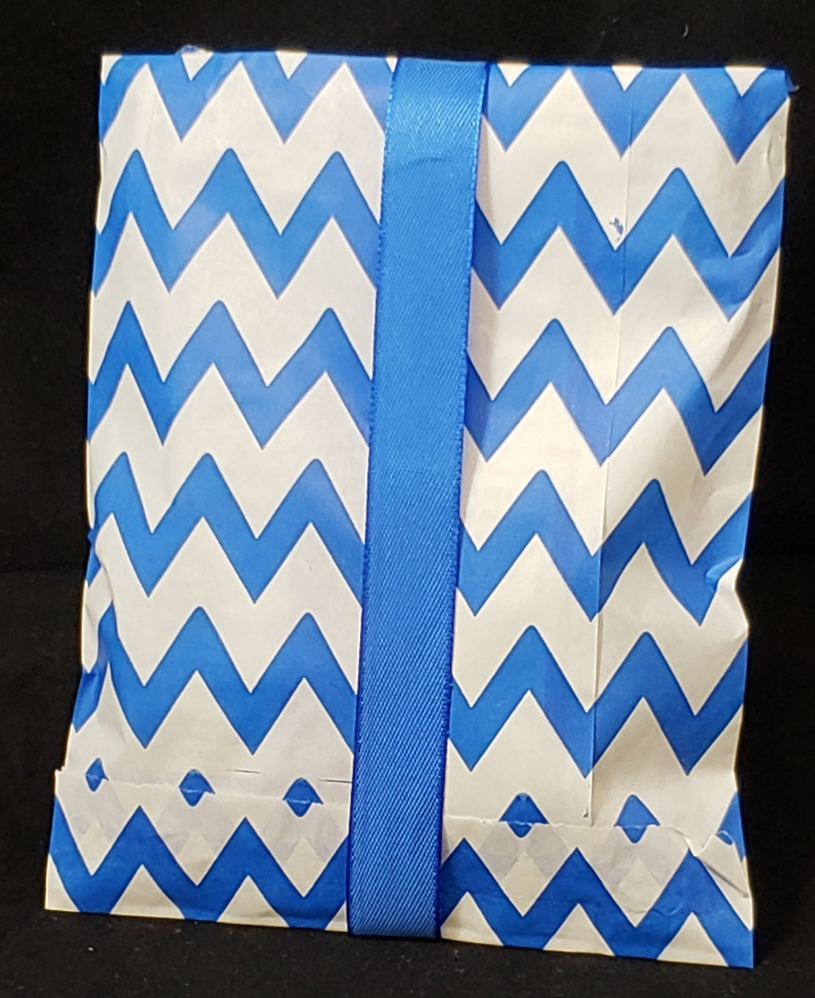 Blue Chevron Bag Pekalach Upsherin, Birthday, New Baby