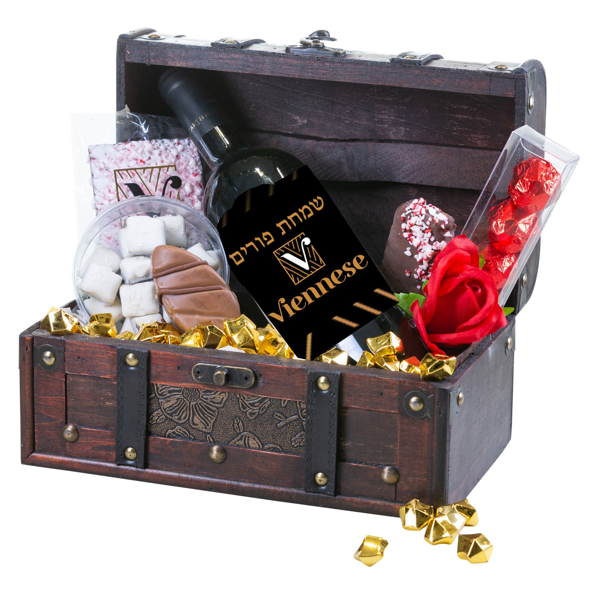 Purim Treasure Chest Mishloach Manos