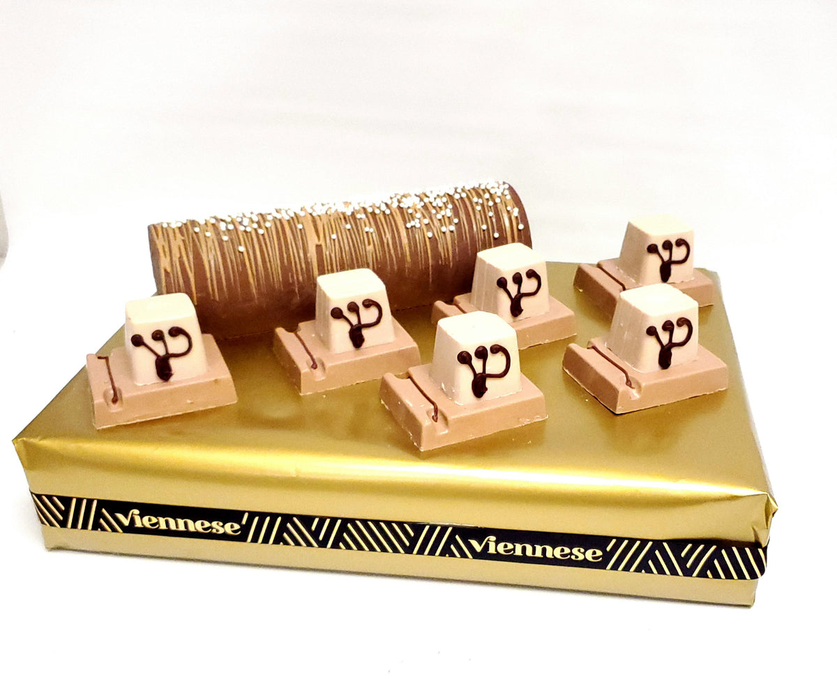 Chocolate Tfillen Bar Mitzvah arrangement