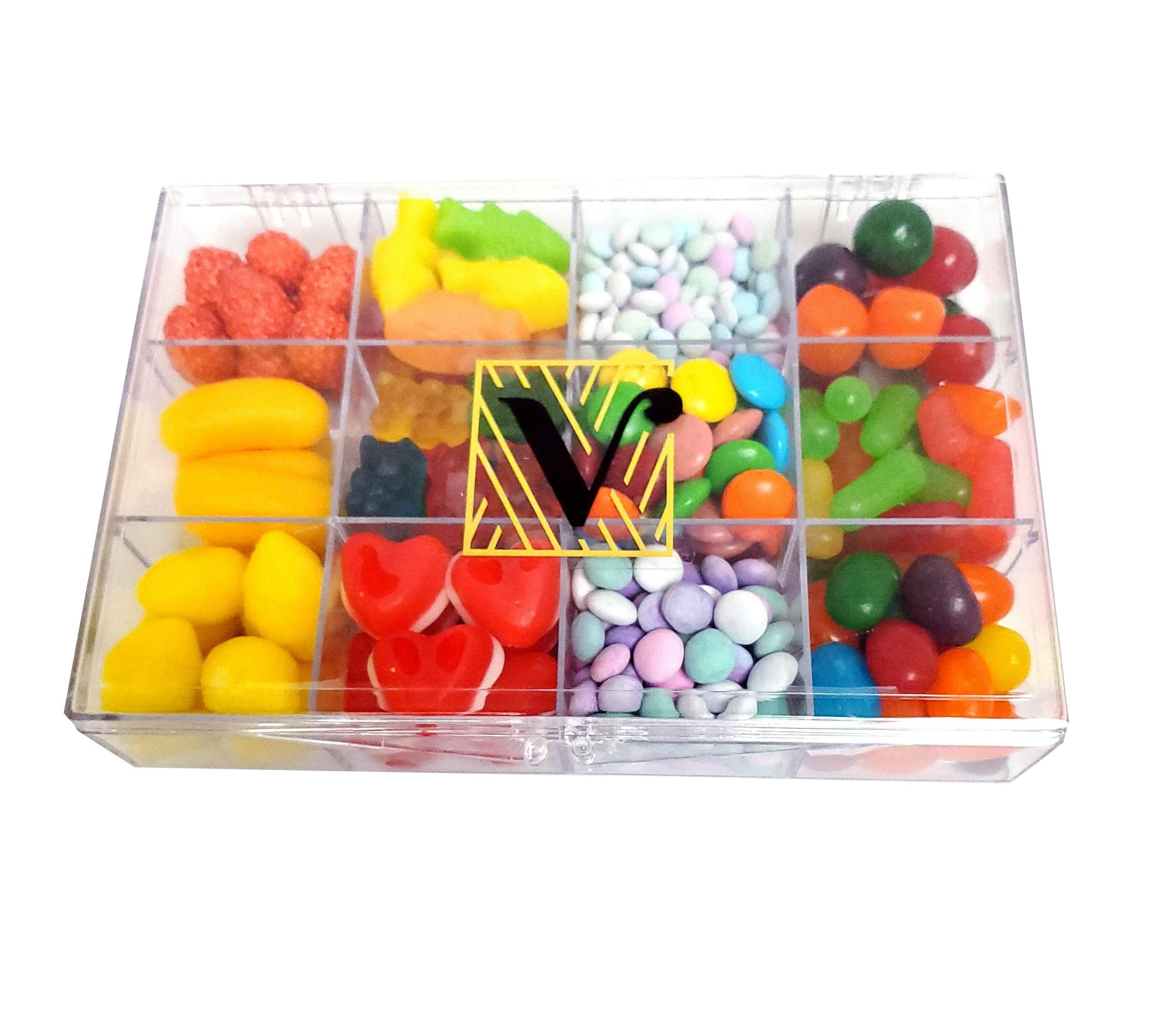 Candy gift Box Acrylic Sectional