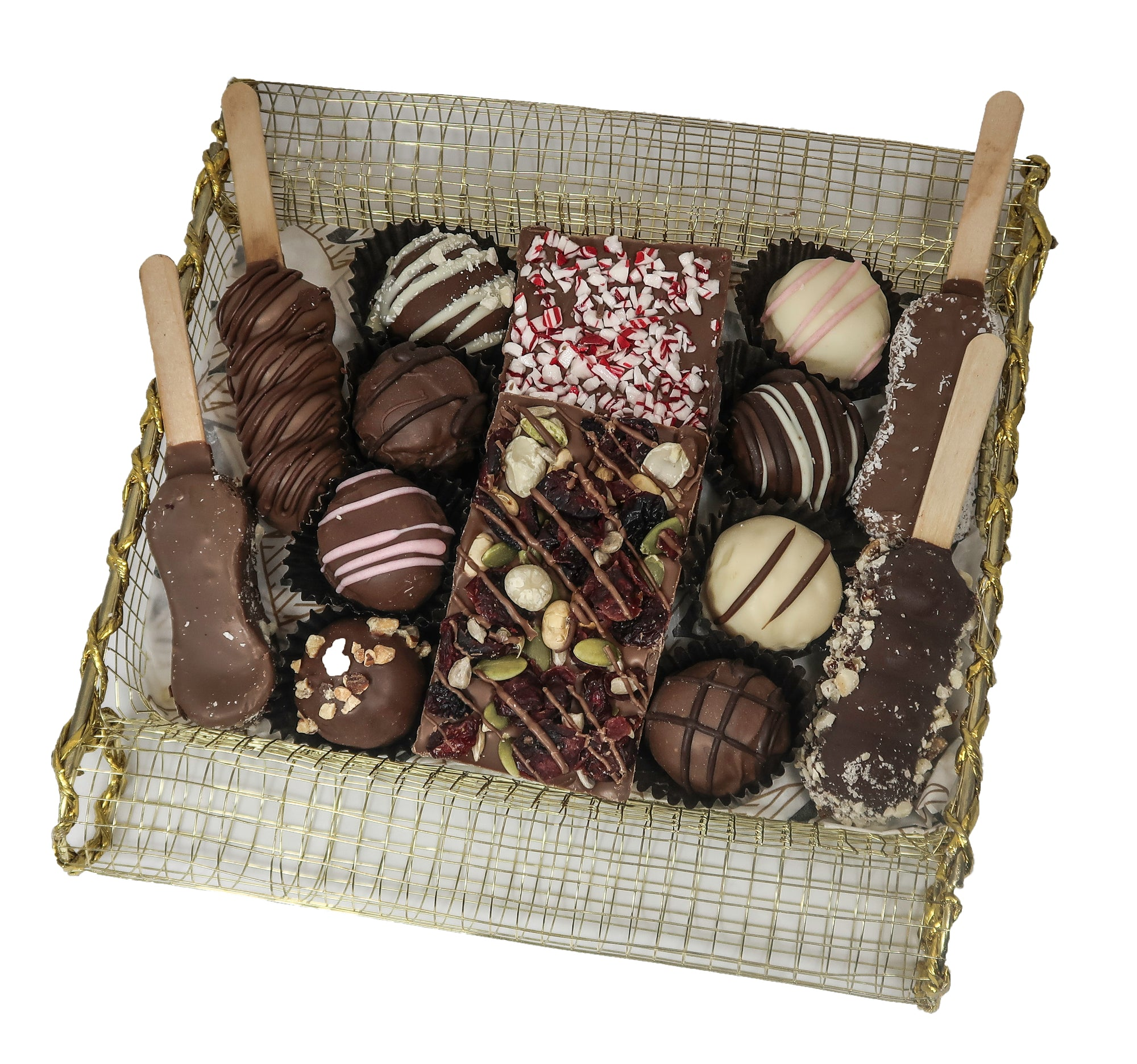 Scroll Dairy Chocolate Platter