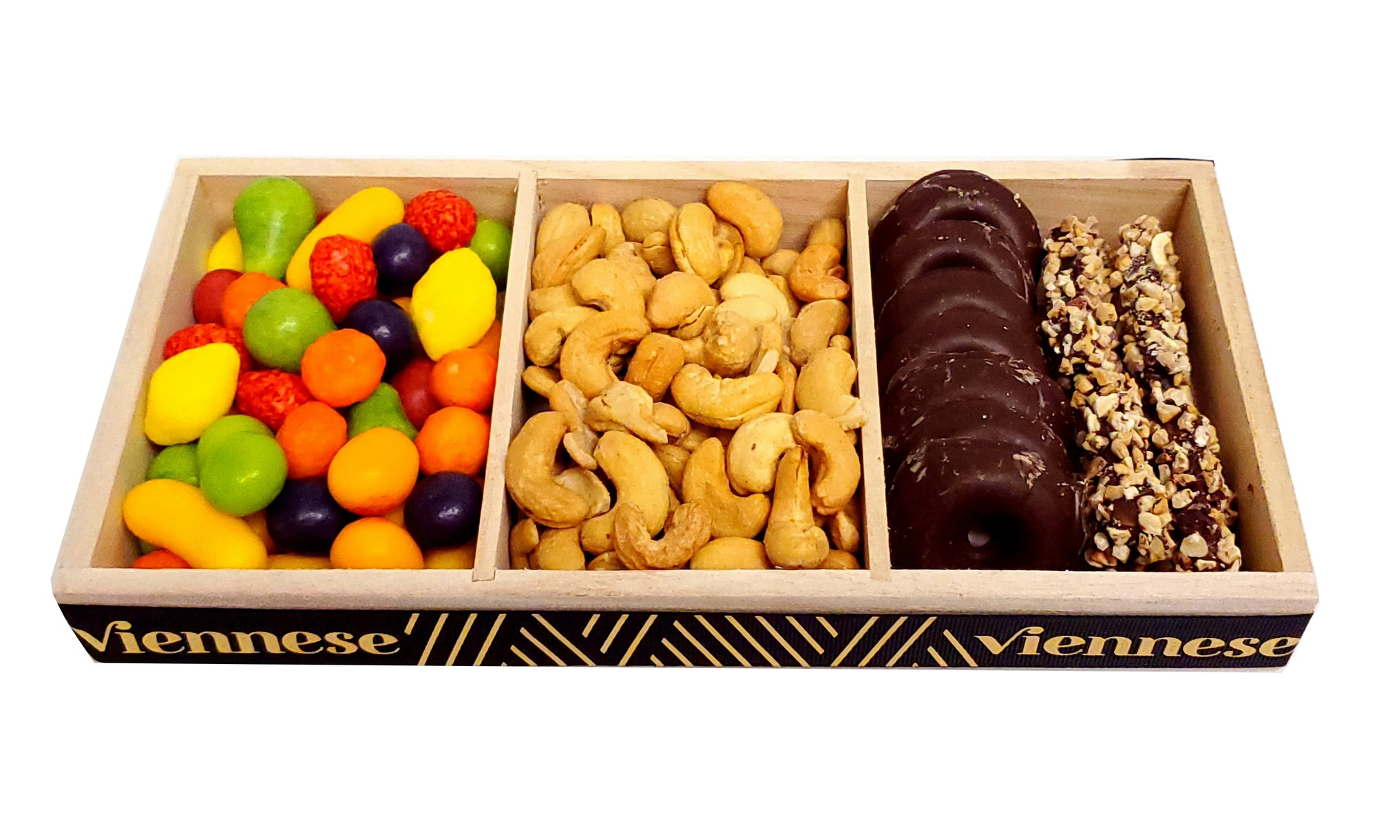 Viennese Chocolate Nuts Candy Trio Mix