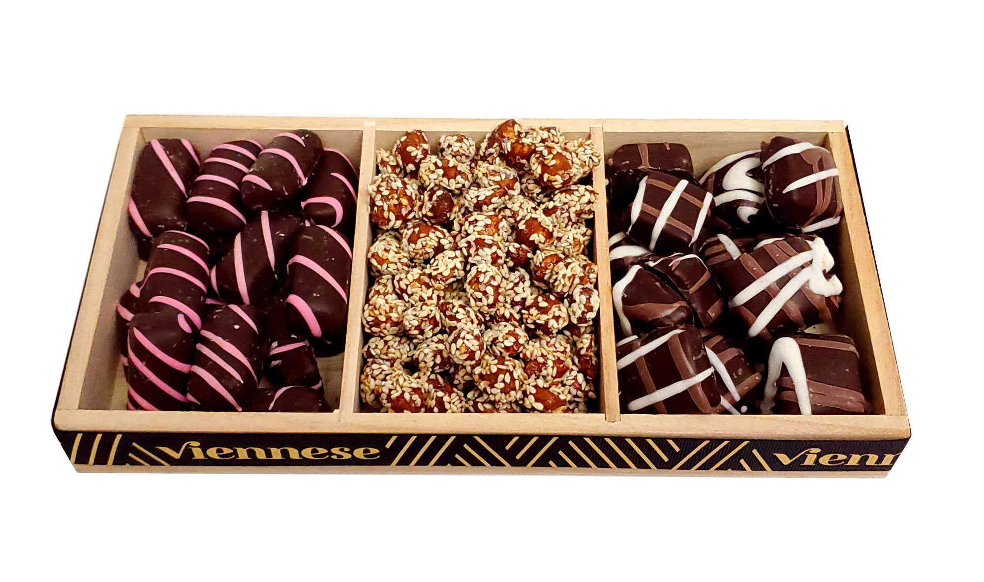 Viennese Chocolate Nuts Trio
