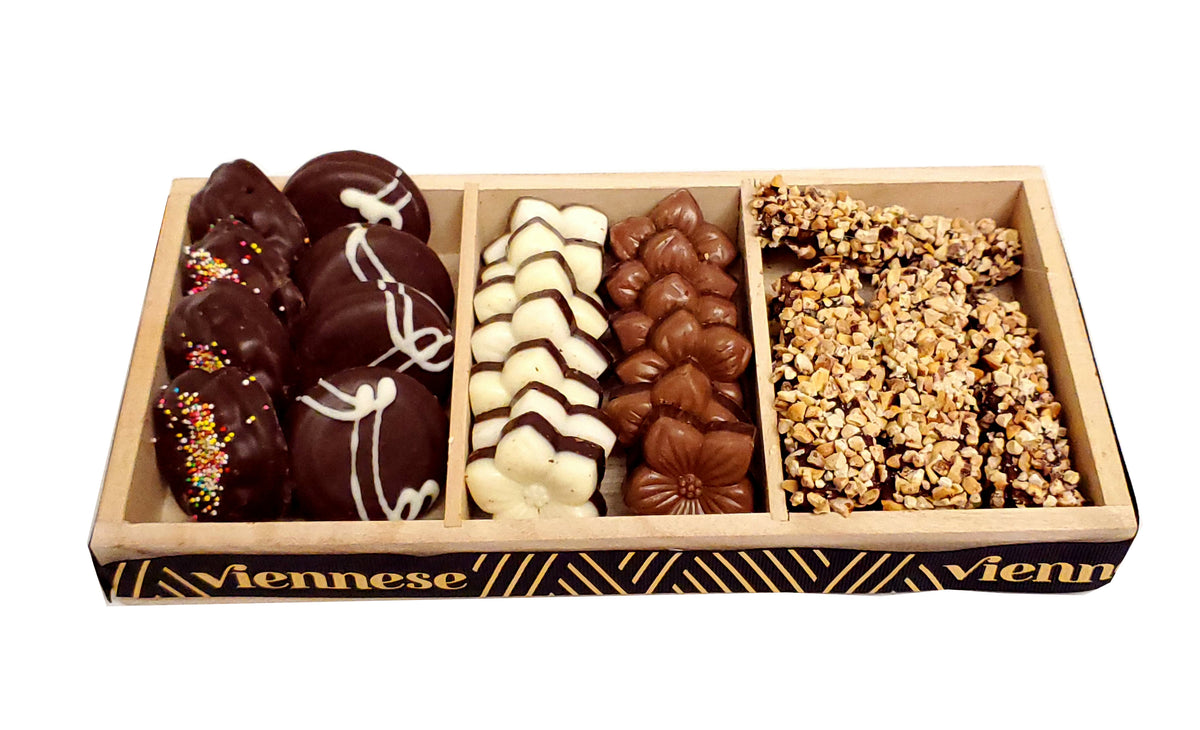 Viennese Chocolate Trio 3 Section
