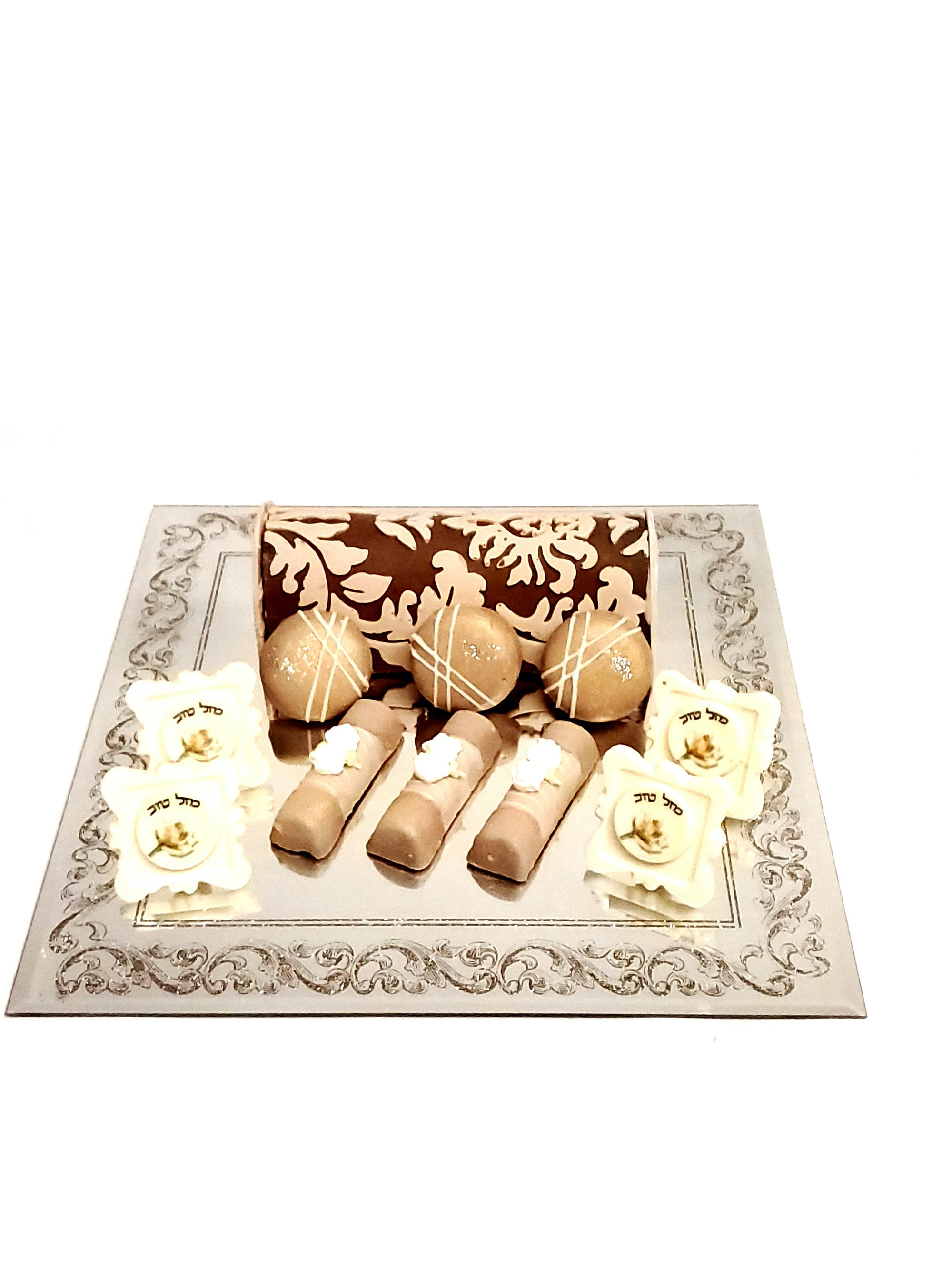 Elegant Simcha Mazel Tov Chocolate Arrangement