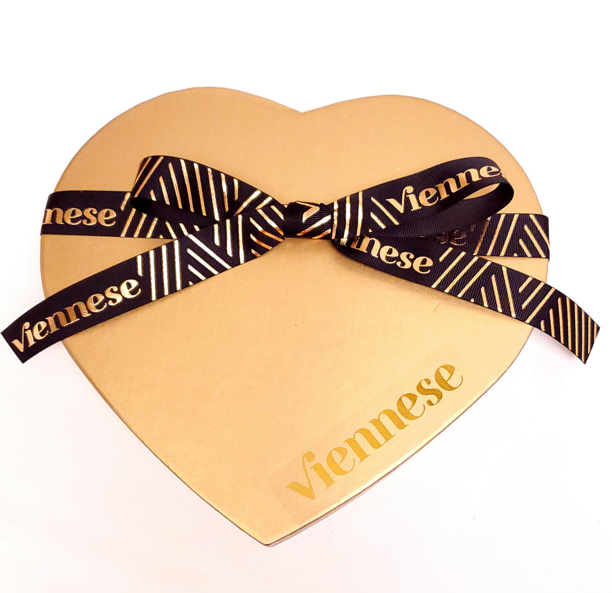Gold Heart Dairy Chocolate  Gift Box