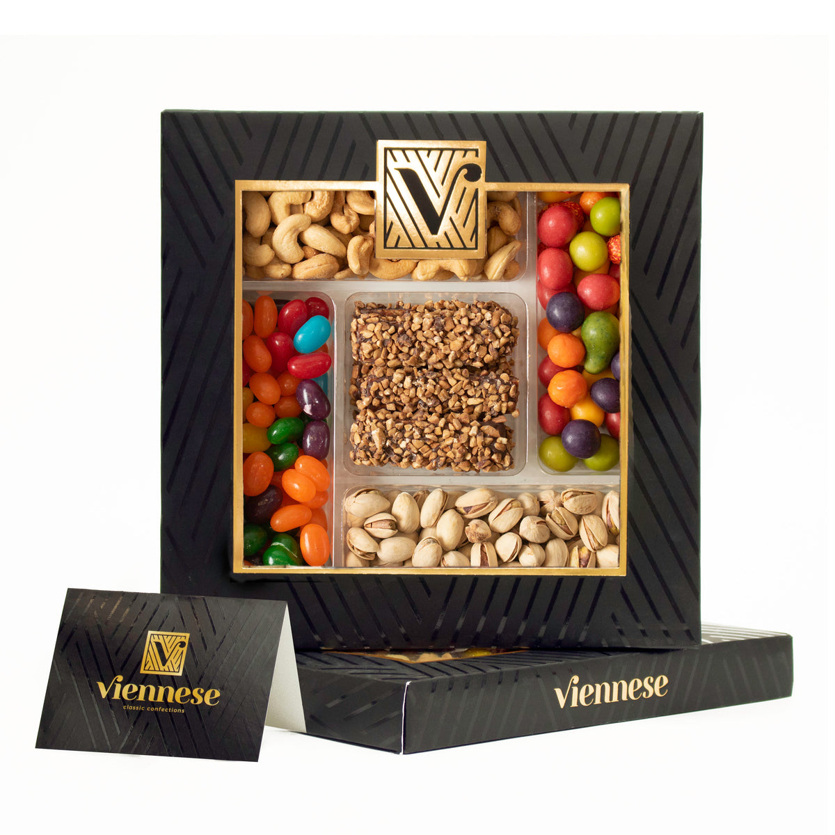Viennese Chocolate, Nuts & Candy Gift Box