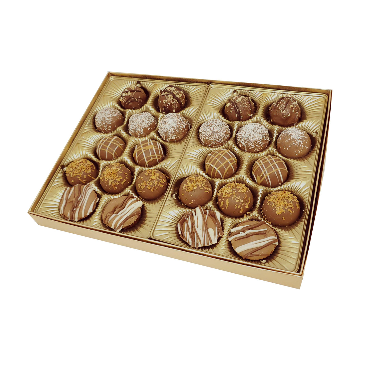 Dairy Hand Made Truffles Gift Box 24pc